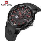 Military Watches Men Quartz Analog 3D