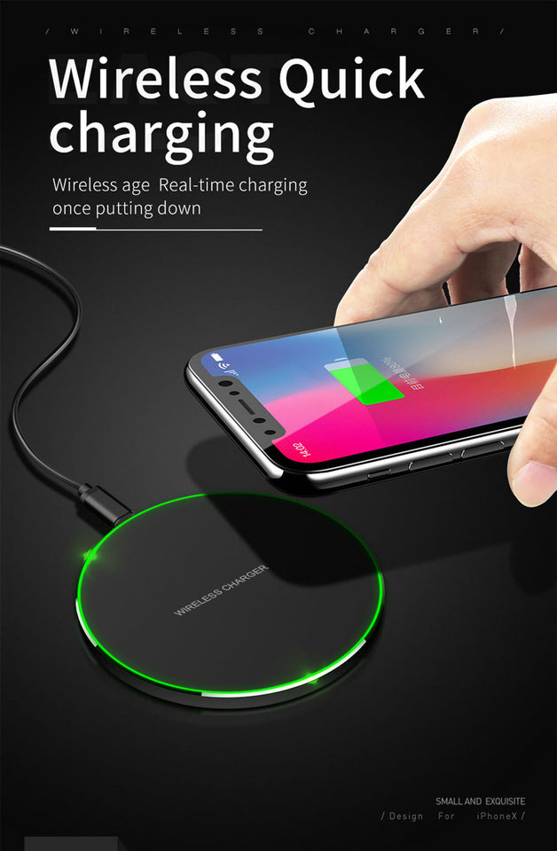Fast Qi Wireless Charger For Iphones and Android