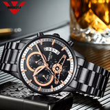 Military Army NIBOSI Mens Watch Top Luxury Brand