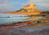 Bamburgh Castle, Evening - The Wallington Gallery