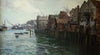 Old North Shields and Tug Boats - The Wallington Gallery