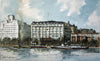 The Savoy Hotel, from The South Bank - The Wallington Gallery