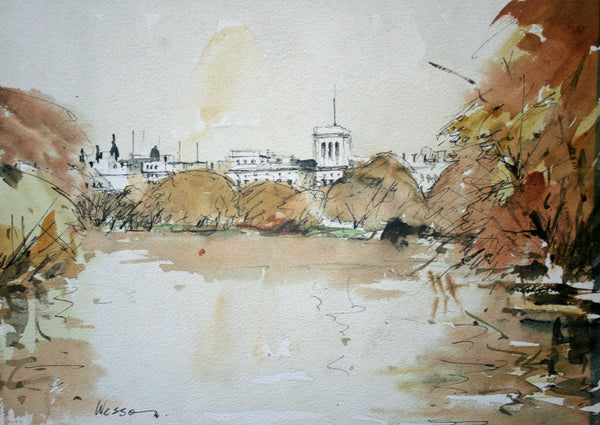Whitehall from St. James Park