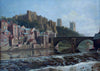 A View of Durham from across The River Wear - The Wallington Gallery
