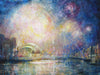 Newcastle Bridges, Fireworks - The Wallington Gallery