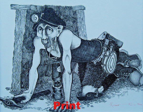 Miner at the Coal Face