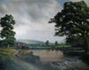 Cattle grazing by a river - The Wallington Gallery
