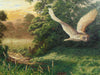 Barn Owl In Flight - 2