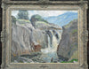 Fishing below the falls - The Wallington Gallery