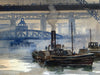 Newcastle upon Tyne, Bridges and Steam
