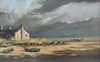 Cottages, at Boulmer, Northumberland - The Wallington Gallery