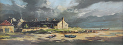 Cottages, at Boulmer, Northumberland