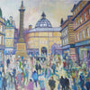 Busy Day, Grey's Monument, Newcastle - The Wallington Gallery