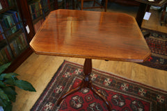 Regency Mahogany Tilt-Top Tripod Table