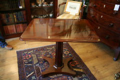 William IV Mahogany Tilt-Top Table