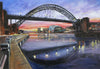 Early Evening Tyne Bridge - The Wallington Gallery