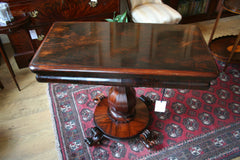 Early Victorian Rosewood Card table
