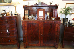 Regency Mahogany Side Cabinet