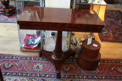 Early 19th Cent Mahogany Card Table