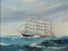 A Barque In Choppy Waters