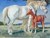 A Mare and Her Foal - The Wallington Gallery