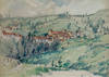 A Village in Tuscany - The Wallington Gallery