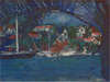 Cavtat, Palms and Boats - The Wallington Gallery