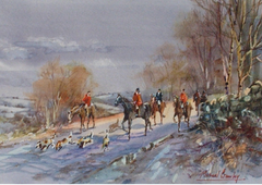 The Winter Hunt Turnditch, Derbyshire
