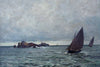 Mackerel Boats Returning, Cloudy Weather - The Wallington Gallery