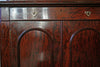 Victorian Mahogany Glazed Bookcase on Cupboard with Drawer - The Wallington Gallery