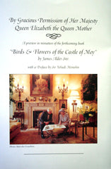 Birds and Flowers of the Castle of Mey