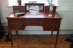 Victorian Mahogany Writing Desk