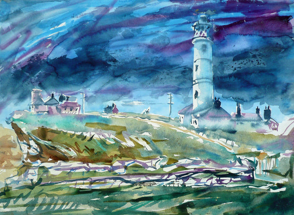 Lighthouse at Flamborough Head, East Yorkshire, England