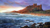 Bamburgh Castle Sunset - The Wallington Gallery