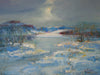 Crag Lough, Winter - The Wallington Gallery