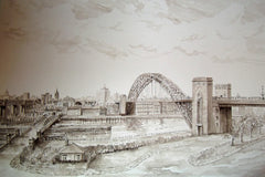 A View of Newcastle from Gateshead