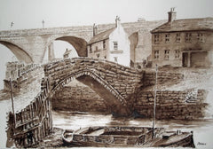 The Old Ouseburn Bridge Newcastle
