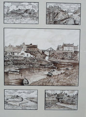 Seaton Sluice from 1880 to 1950