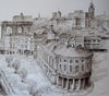 Guild Hall view from the Tyne Bridge - The Wallington Gallery