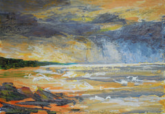 Approaching Storm, Alnmouth