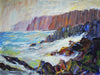 Cliffs South of Staithes - The Wallington Gallery