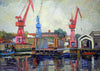 End of an era, Wallsend Slipway and Roman Bath House - The Wallington Gallery