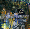 Haymarket at Night - The Wallington Gallery