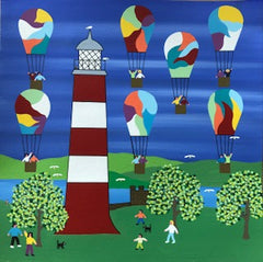 Balloons over the Lighthouse