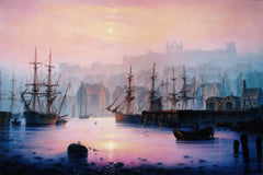 Sailing Ships, Whitby Harbour
