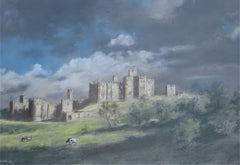 Alnwick Castle, After the Storm