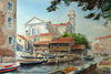 Venice Boatyard - The Wallington Gallery