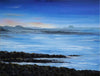 Northumberland Coast, Evening Light - The Wallington Gallery