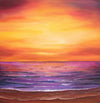 Ocean Sunset - The Wallington Gallery