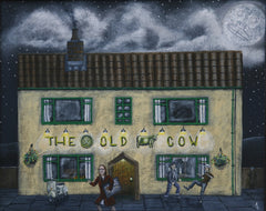 Old Cow (print)